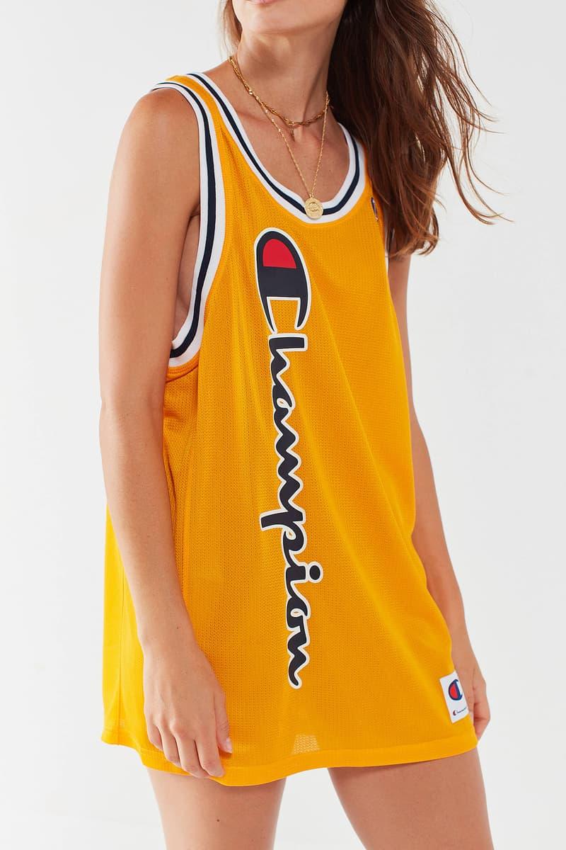 Champion City Mesh Jersey Yellow