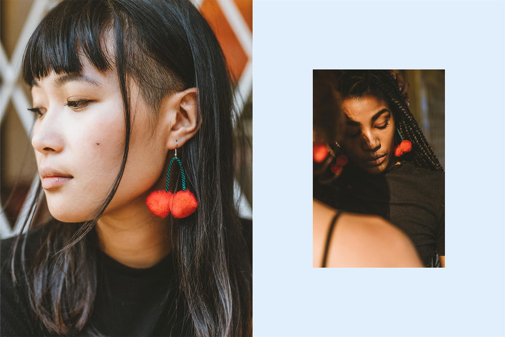 cherrypom jewelry earrings lauren coutts vancouver