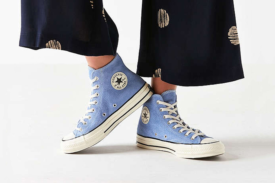17648eb5cda6 Converse Covers the Chuck Taylor in Blue Suede