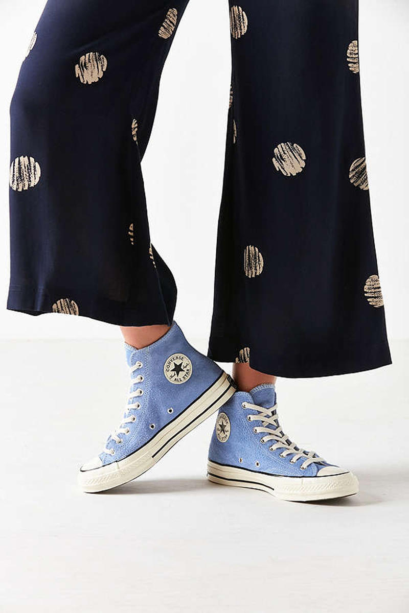 6b420e8d21e Converse Covers the Chuck Taylor in Blue Suede