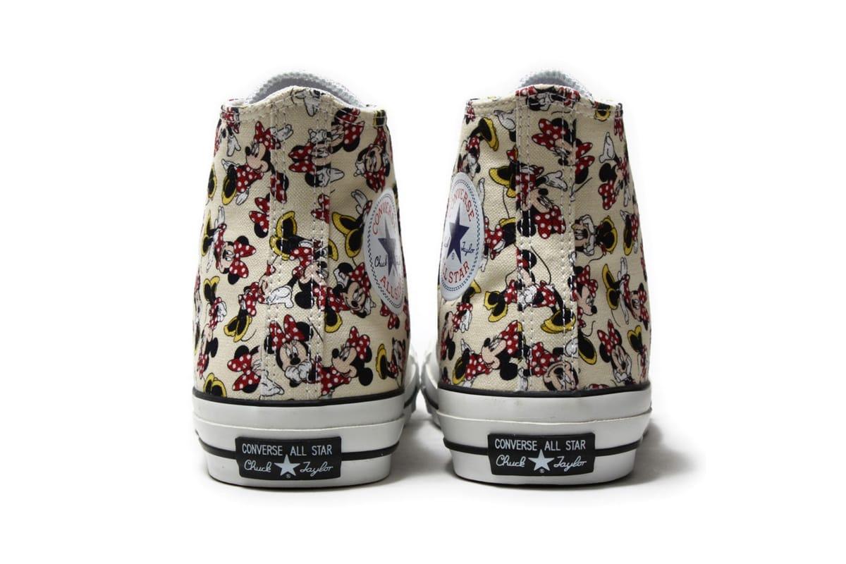 Minnie Mouse x Converse Chuck Taylor