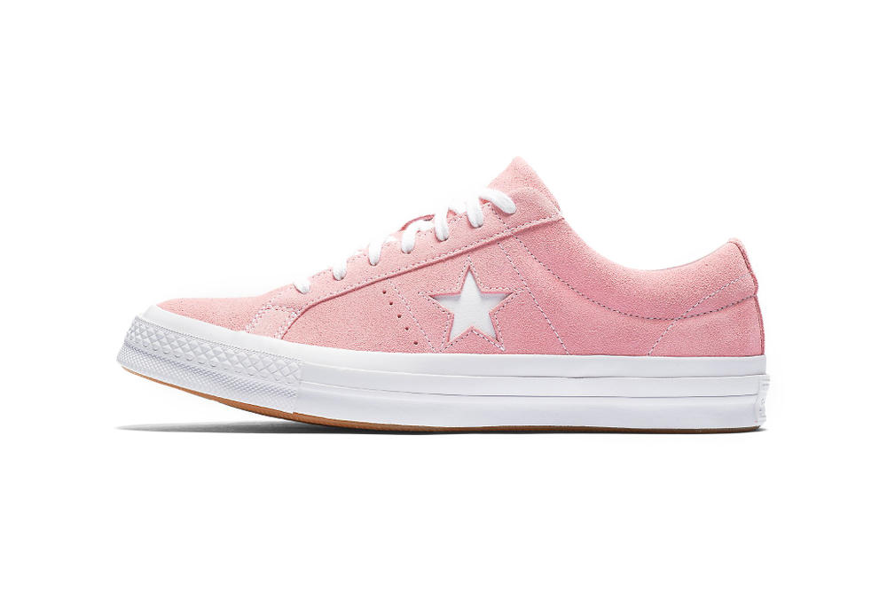 555e59ccbab Converse One Star Classic Suede Is Sweet and Pink