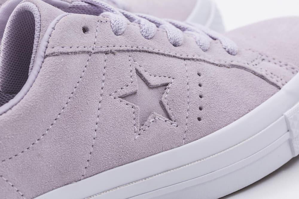 103194a8d538c1 Converse One Star Plush Suede Water Repellent Pastel Purple HBX