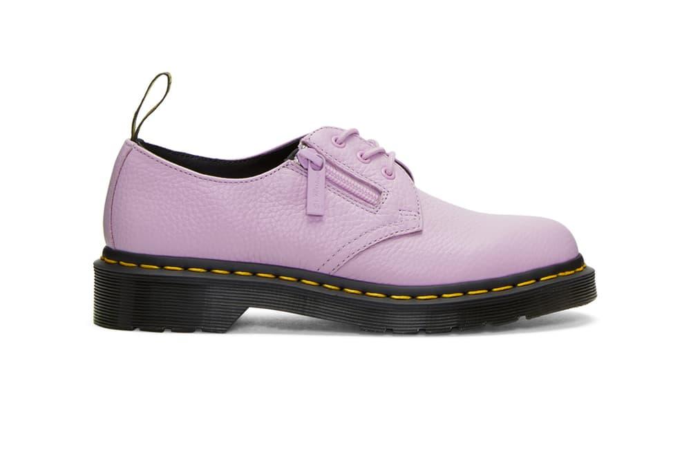 Dr. Martens 1461 Derbys Pascale Boots Glitter Purple