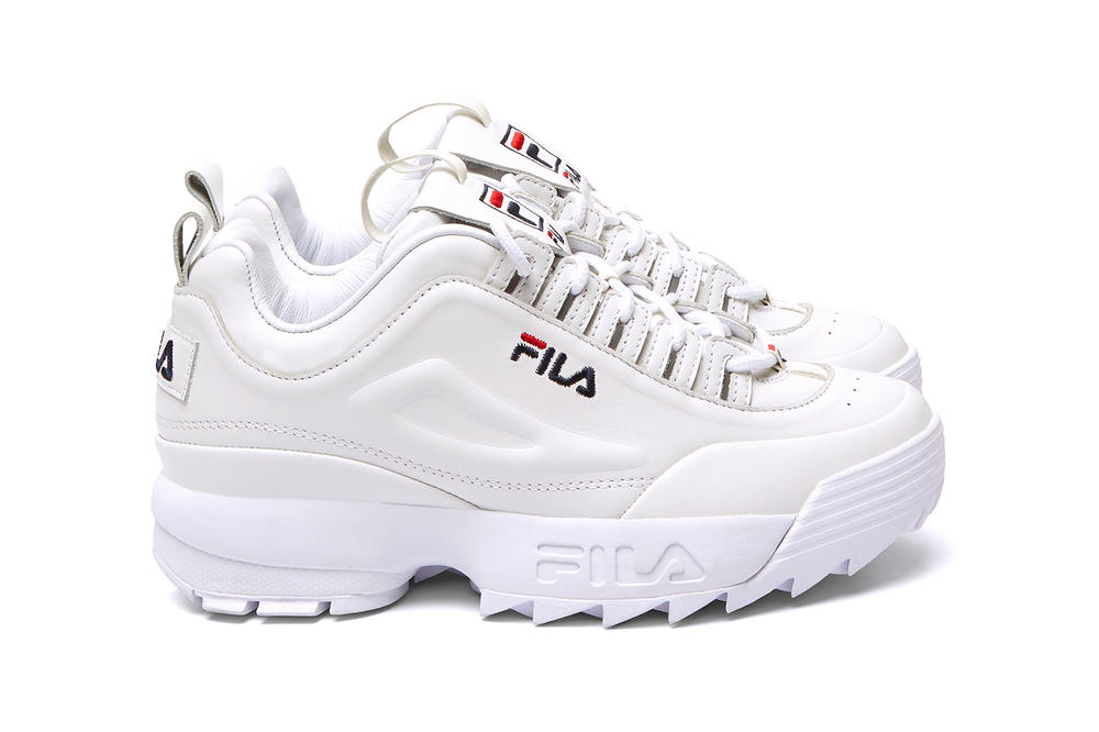 FILA x Barneys New York Drifter Slide Disruptor II Lux