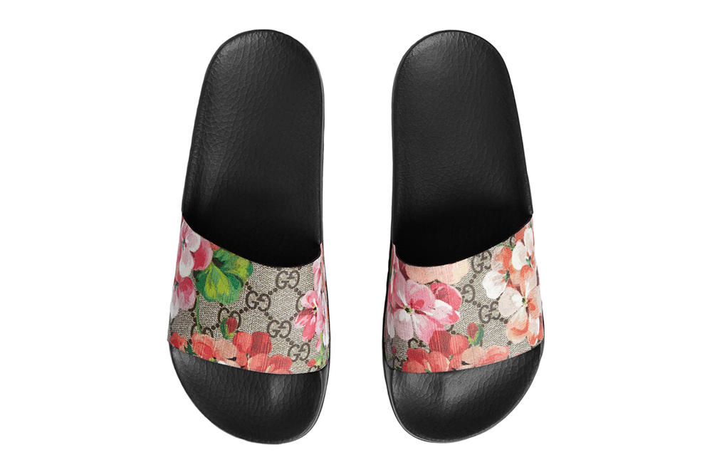 cd85cf93e67e Gucci Blooms Supreme Slide Sandal Lyst Index 2017 Floral Business of Fashion