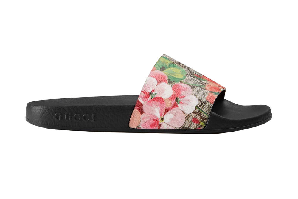 Gucci Blooms Supreme Slide Sandal Lyst Index 2017 Floral Business of Fashion