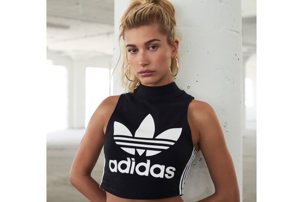 Hailey Baldwin JD Sports adidas EQT Campaign