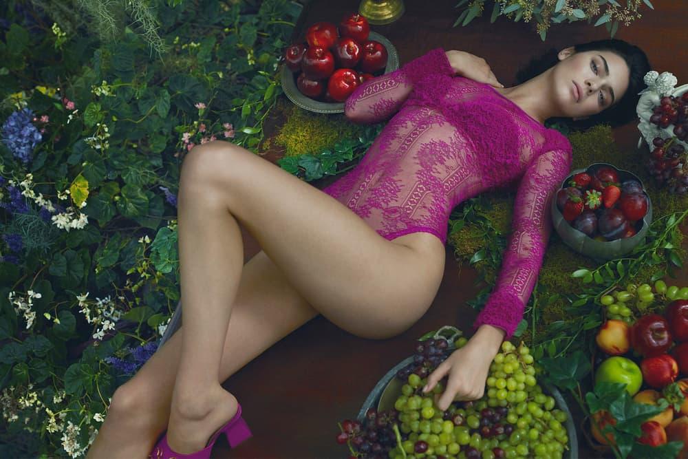 Kendall Jenner La Perla 2017 Fall Winter Campaign