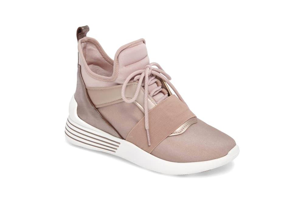 Kendall + Kylie Braydin Sneaker Wood Rose