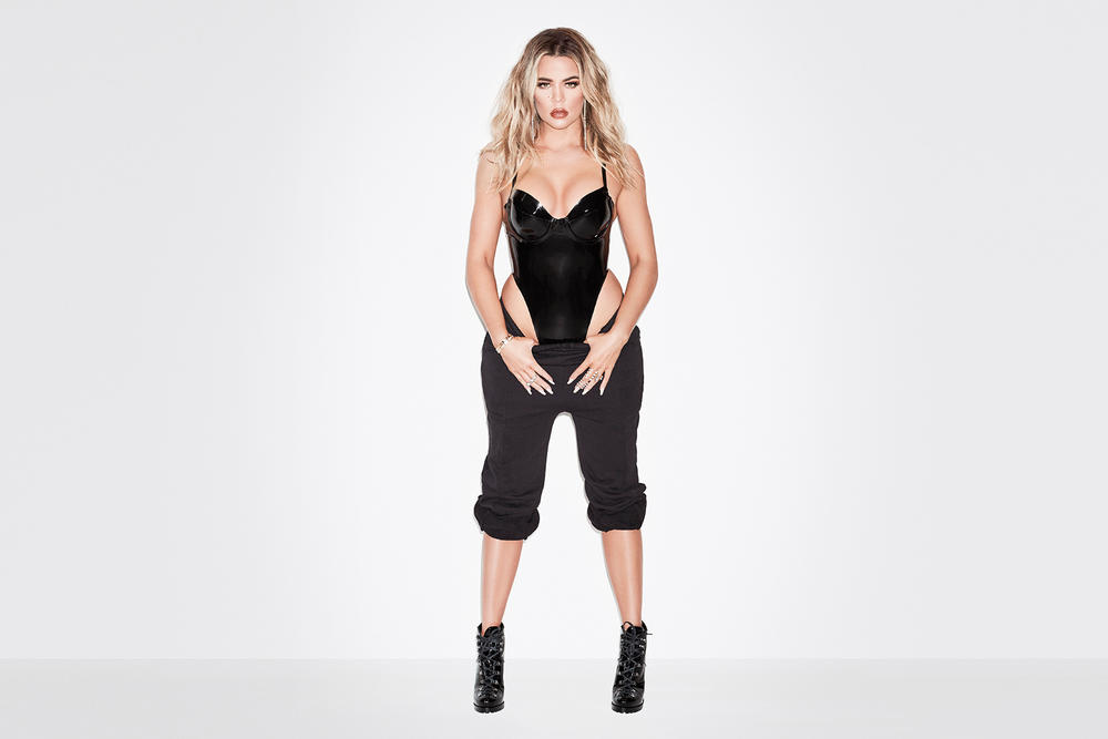 Khloe Kardashian Good American Sweats Pants