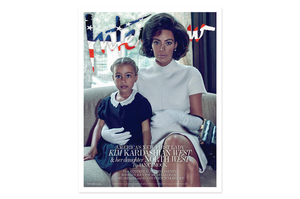Kim Kardashian North West Interview Magazine 2017 September Cover
