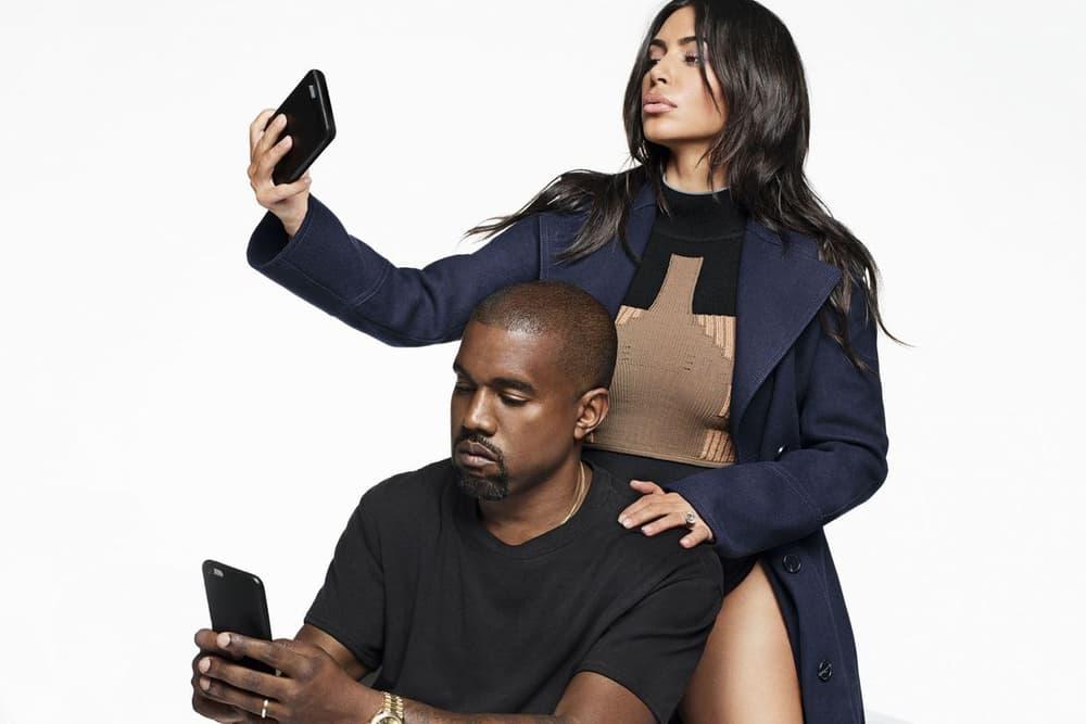 Kim Kardashian Harper's Bazaar Selfie Kanye West
