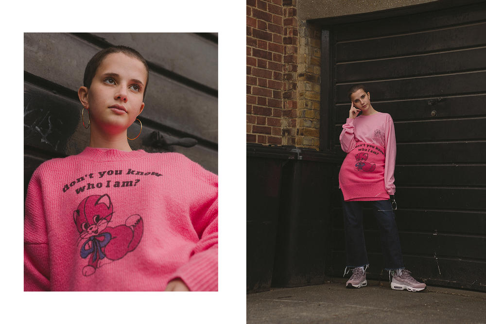 Lazy Oaf HYPEBAE Exclusive 2017 Fall Editorial Womens Mens London