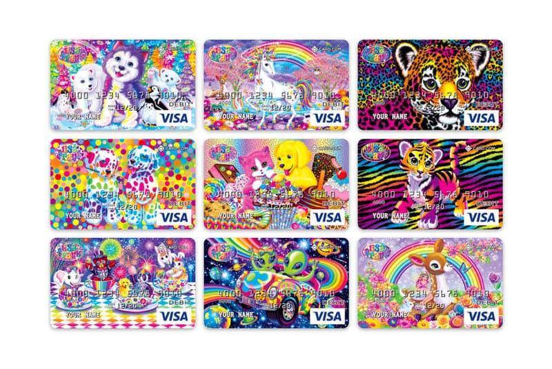Lisa Frank Debit Cards