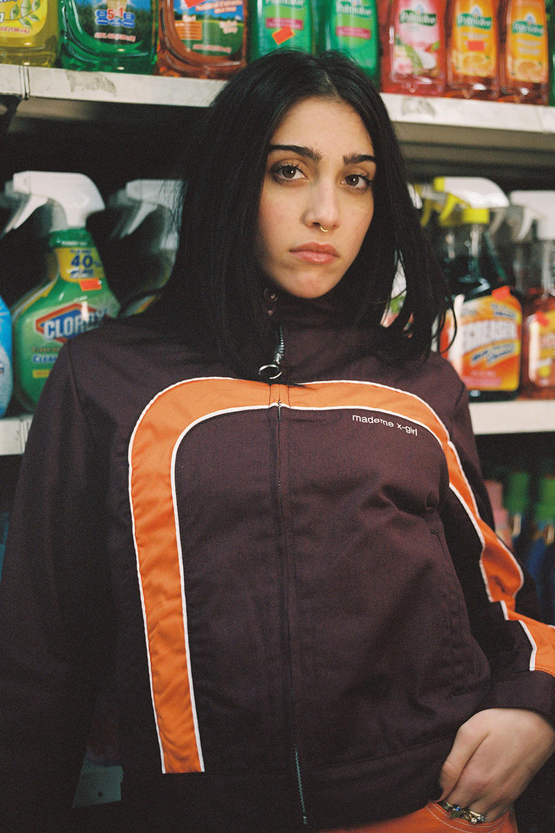 Lourdes Leon X-Girl MadeMe New York 2017 Fall Campaign Madonna Daughter Erin Magee