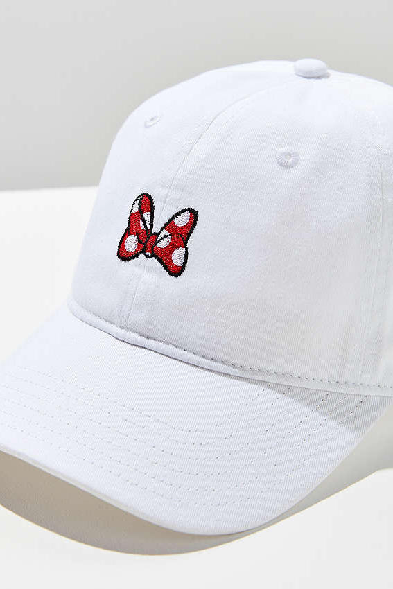 Minnie Mouse Bow Baseball Hat Cap
