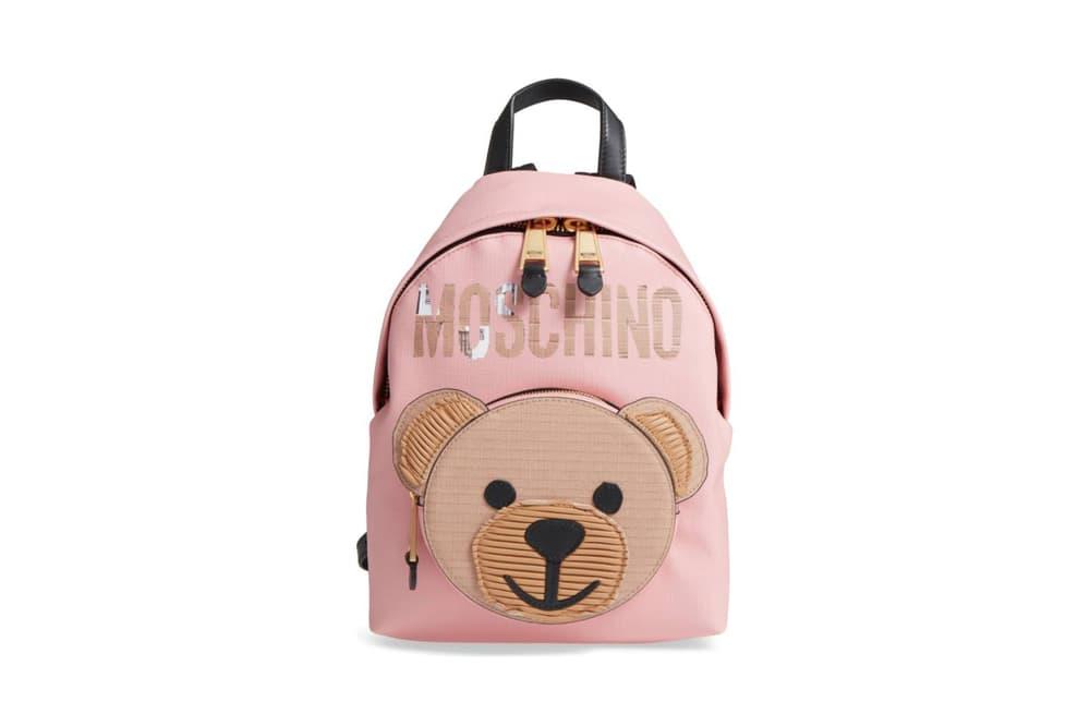 43e06479ff Moschino's Cardboard Bear Backpack Is Beary Cute | HYPEBAE