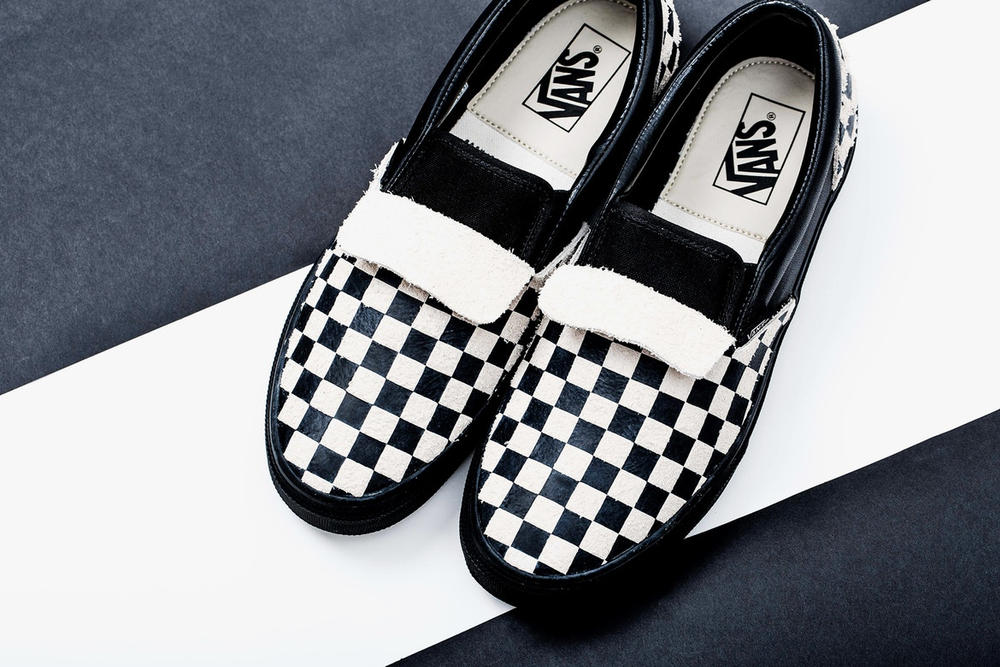 N.HOOLYWOOD Vans Checkerboard Slip-On Pack