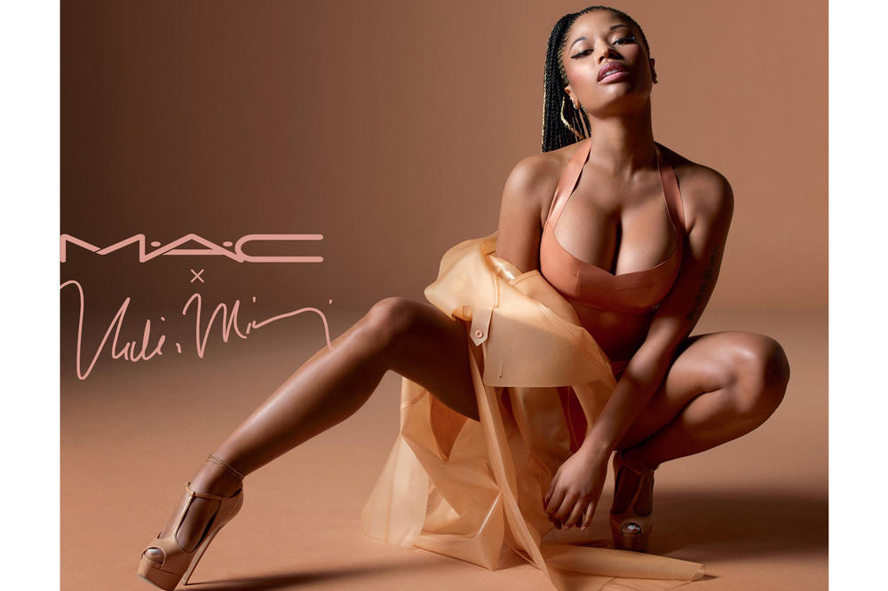 Nicki Minaj MAC Nude Lipstick Collection