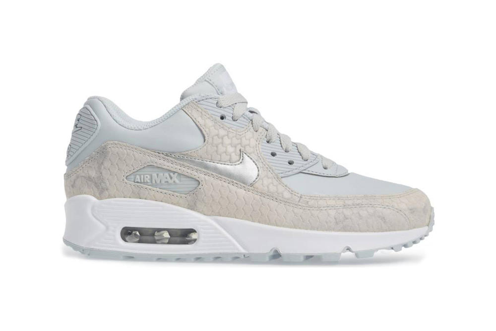 new concept 34e20 6c238 Nike Air Max 90 Premium Grey Snakeskin. 1 of 2