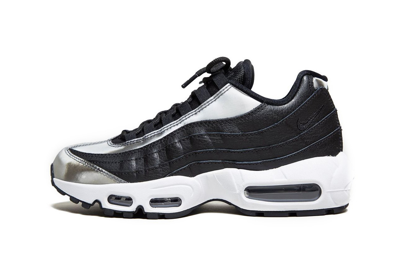 Nike Air Max 95 Gets a Silver Lining