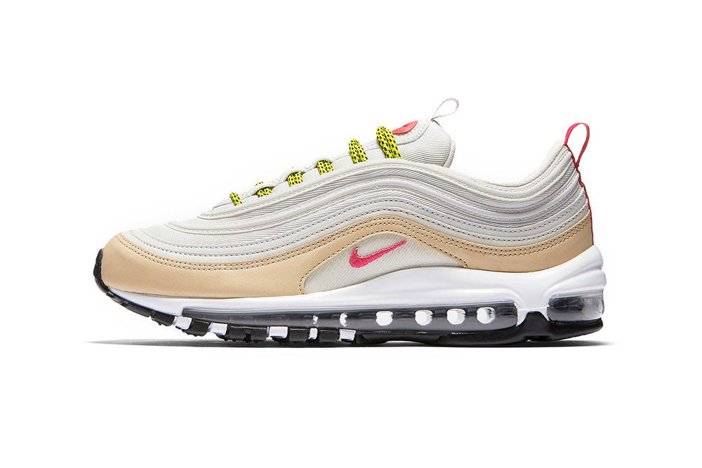 Nike Air Max 97 White Tan Pink