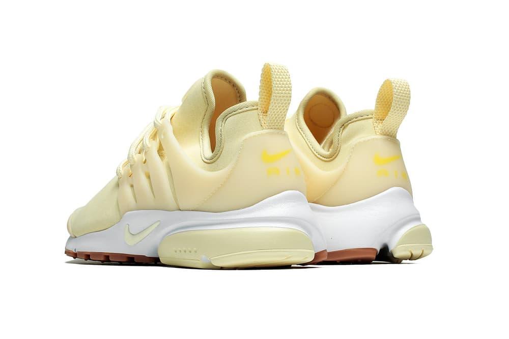 Nike Air Presto Premium Gold Star Pastel Yellow