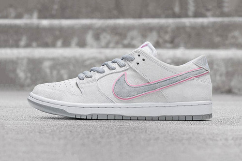 new arrival 5019b 9ce1d This Minimalist Nike SB Dunk Low Pro Is Outlined in Pink
