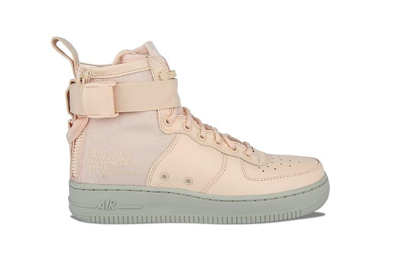 separation shoes 63ffc 587c4 Nike's SF-AF1 Mid Blossoms in Orange Quartz | HYPEBAE