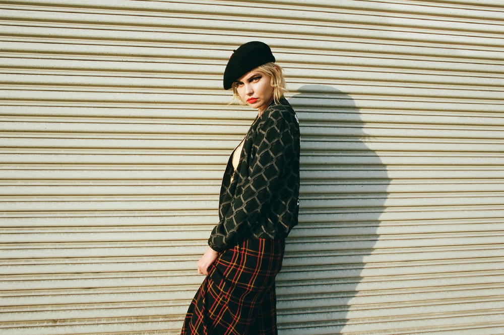 Debbie Harry OBEY 2017 Fall Collection Lookbook Collaboration Blondie Women
