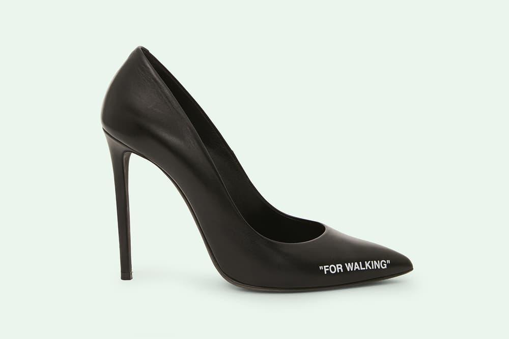 "Off-White™ ""FOR WALKING"" Stiletto Heels"