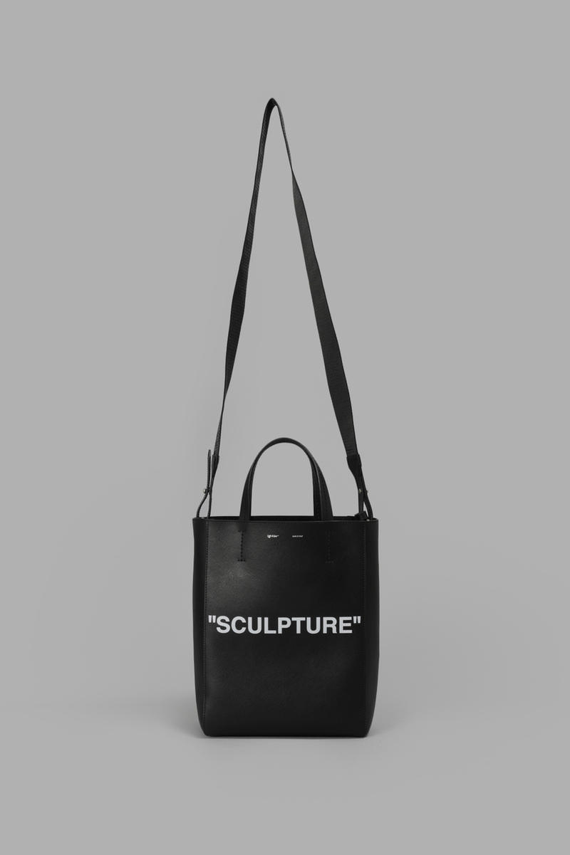 Virgil Abloh Off White Sculpture Tote Bag