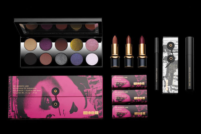 Pat McGrath Labs Unlimited Edition Makeup Collection Lipstick Eyeshadow Palette Mascara Eye Pencil