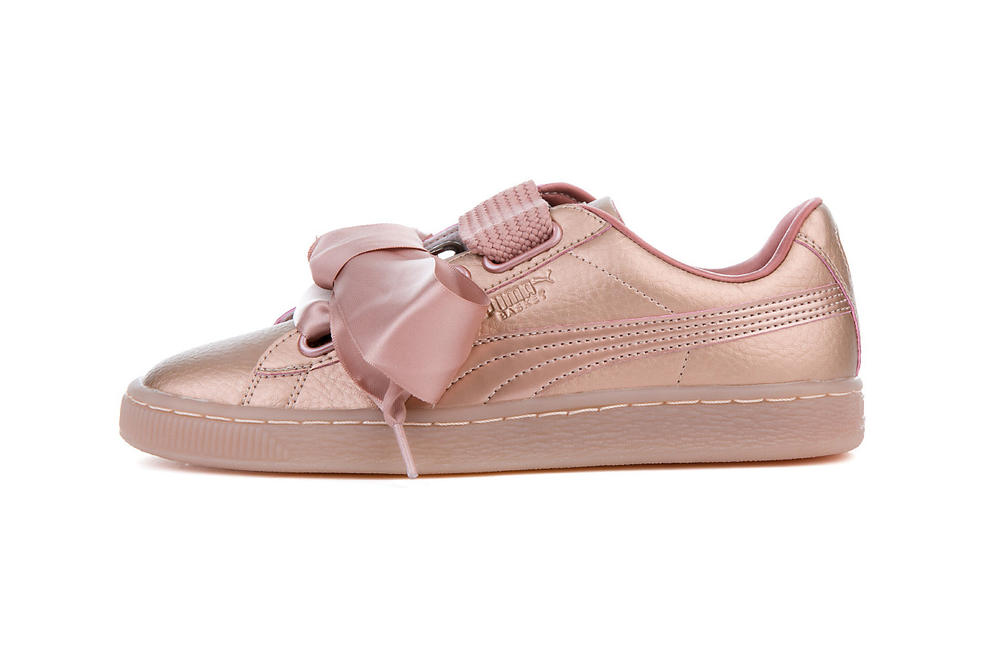 competitive price 121f3 5fd76 The PUMA Basket Heart Is Dipped In