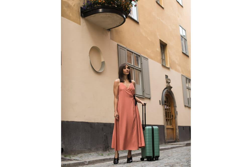 Rashida Jones Away Travel suitcase collaboration collection