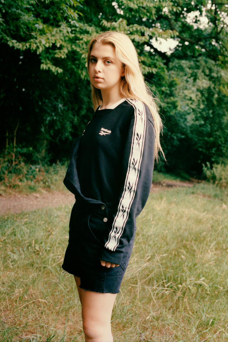 Reebok Classic 2017 Fall Winter Campaign Collection Anais Gallagher