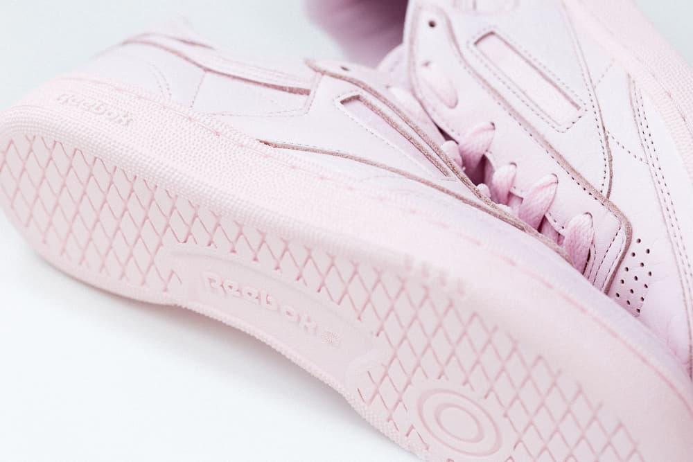 Reebok Club C 85 Closer Look Elm Pack Pastel Pink Blue White