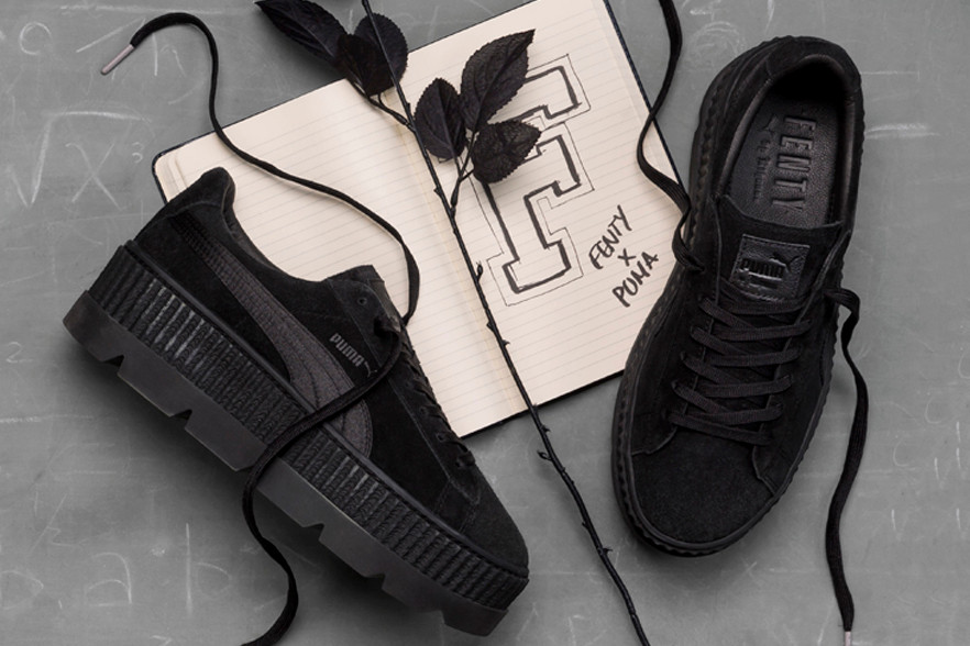 fenty shoes creepers