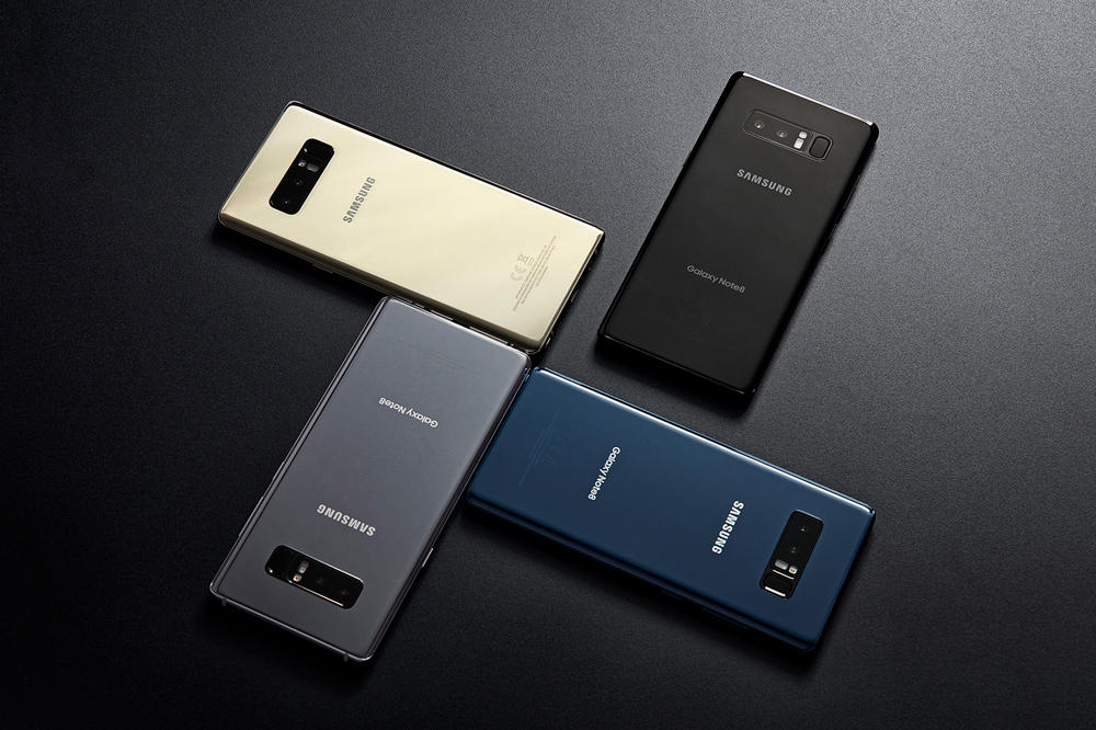 Samsung Galaxy Note 8 Orchid Gray
