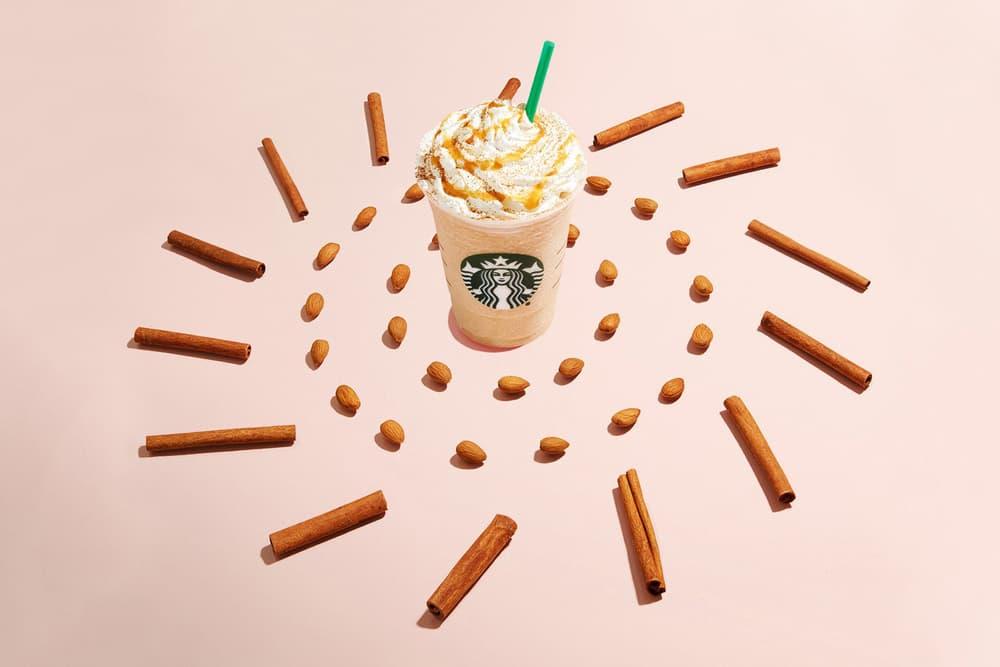 Starbucks Horchata Almond Milk Frappuccino