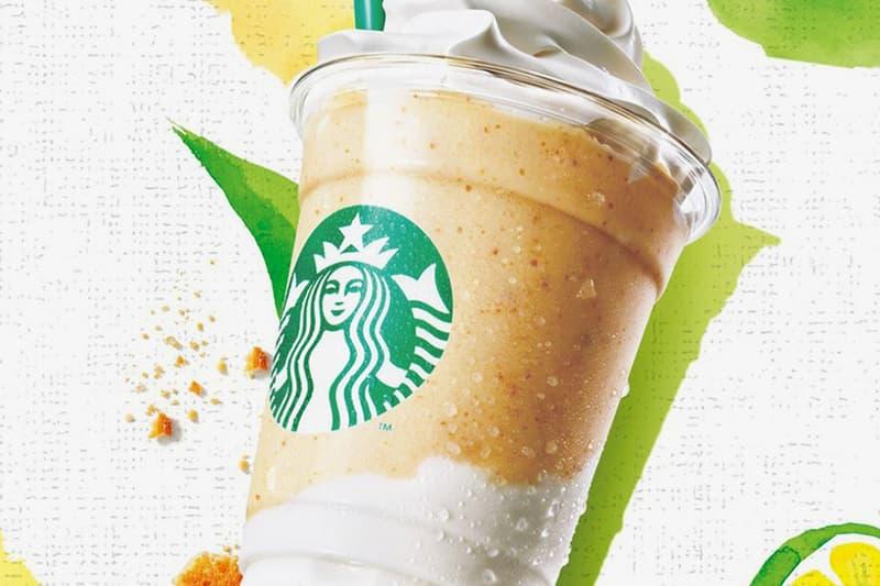 Starbucks Japan Key Lime Pie Cream Yogurt Frappuccino