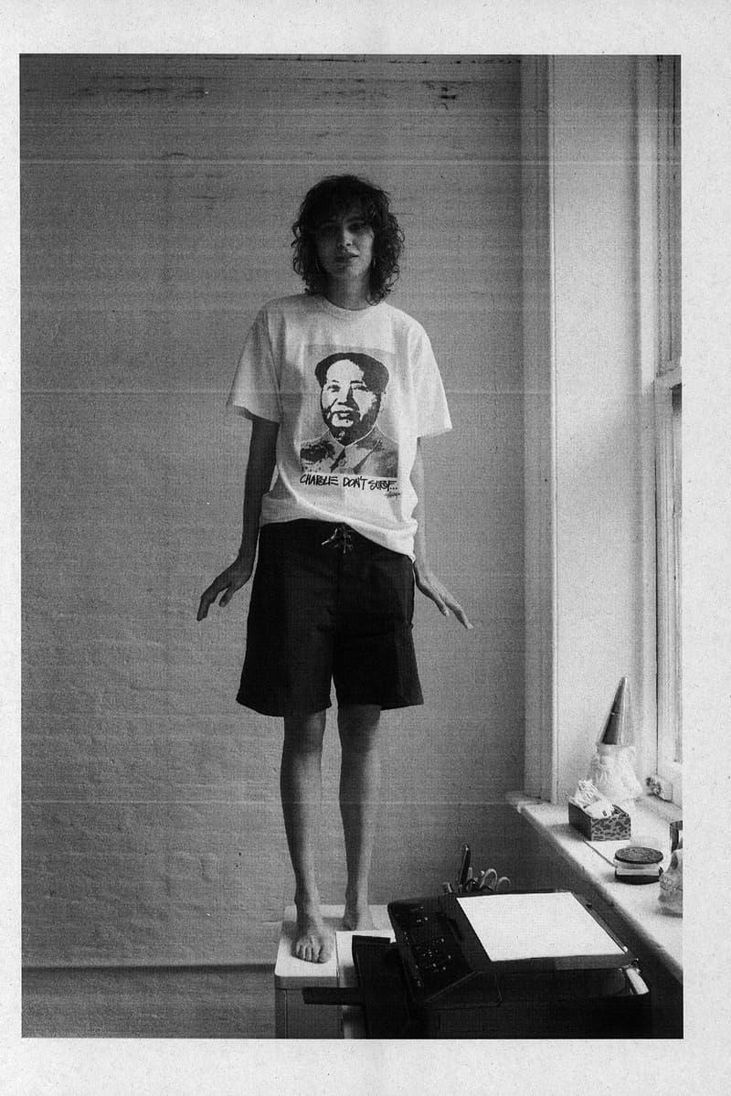 stussy dover street market retrospective idea book tshirts Ari Marcopoulos