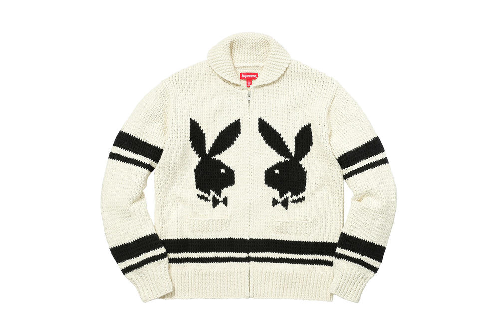 Supreme 2017 Fall Winter Collection Women Playboy Jacket T-shirt Accessories
