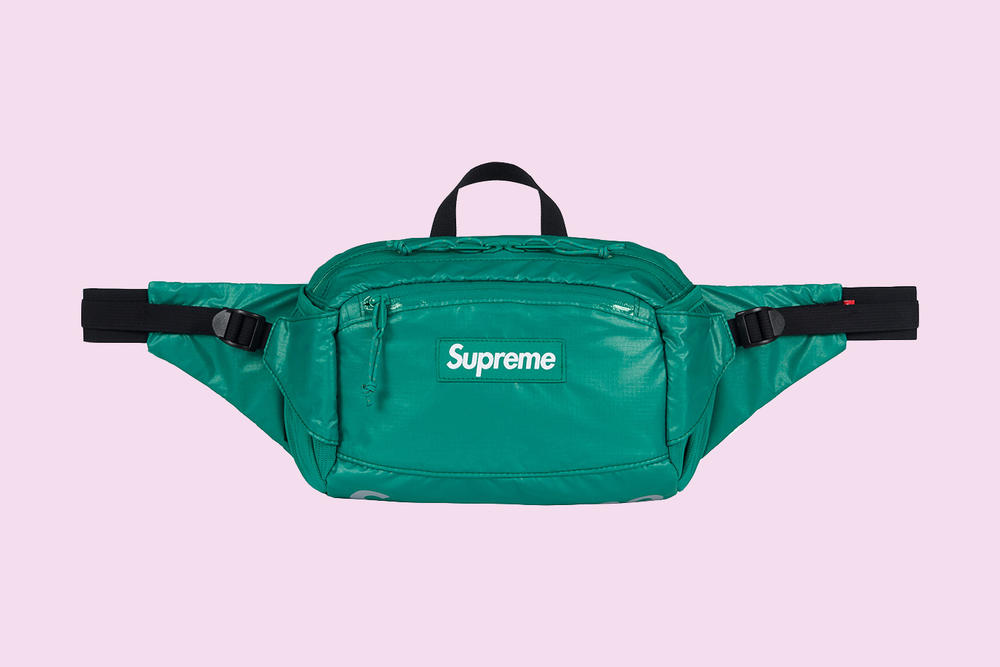 Supreme Waist Bag Teal 2017 Fall Winter