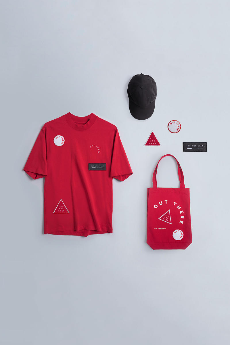 the arrivals out there kit 2017 pre capsule