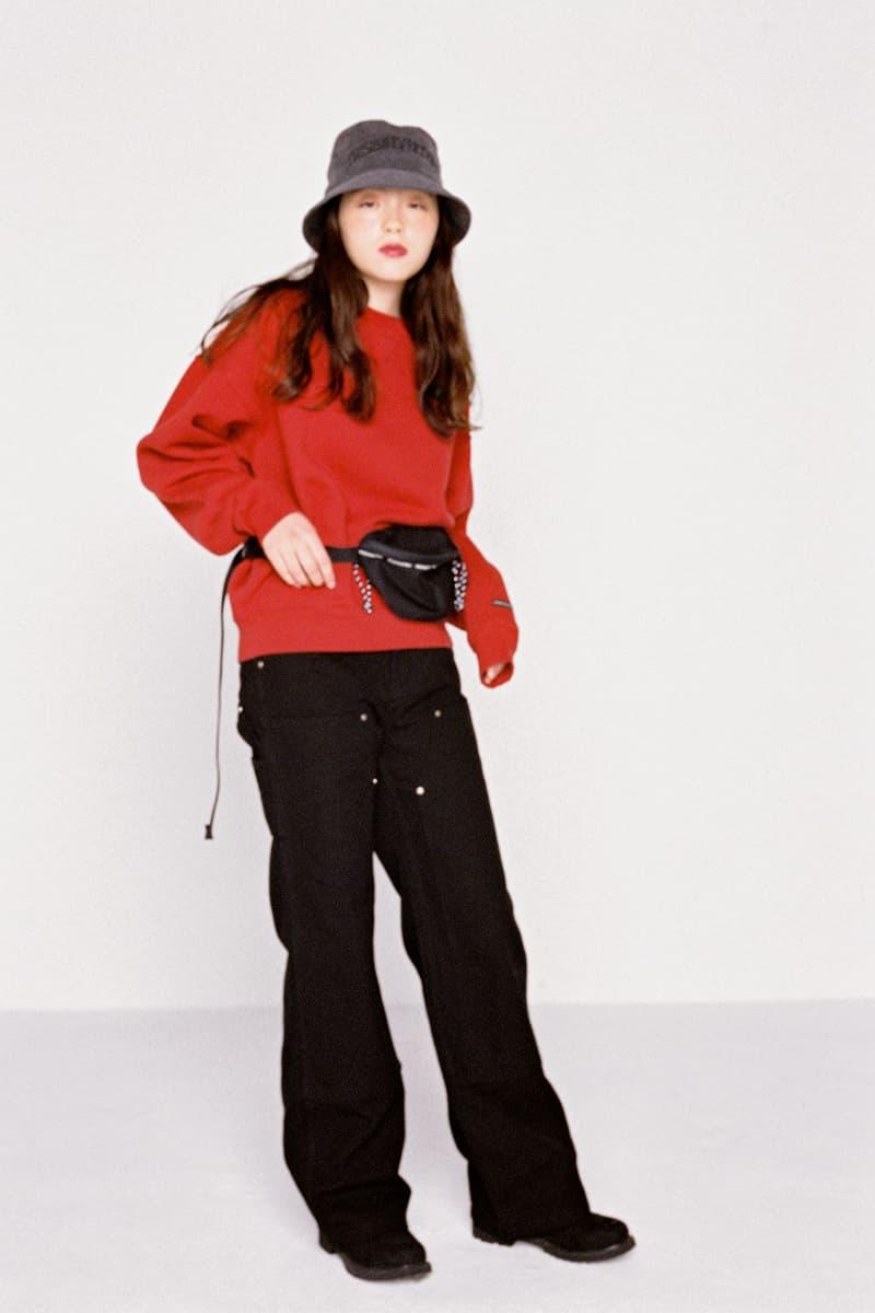 thisisneverthat Korean Brand Streetwear 2017 Fall Winter Lookbook Womens Collection