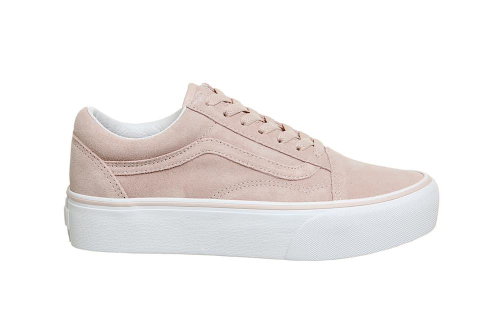 8f65a661f9d Vans Old Skool Platform Sepia Rose Pastel Pink White Creeper