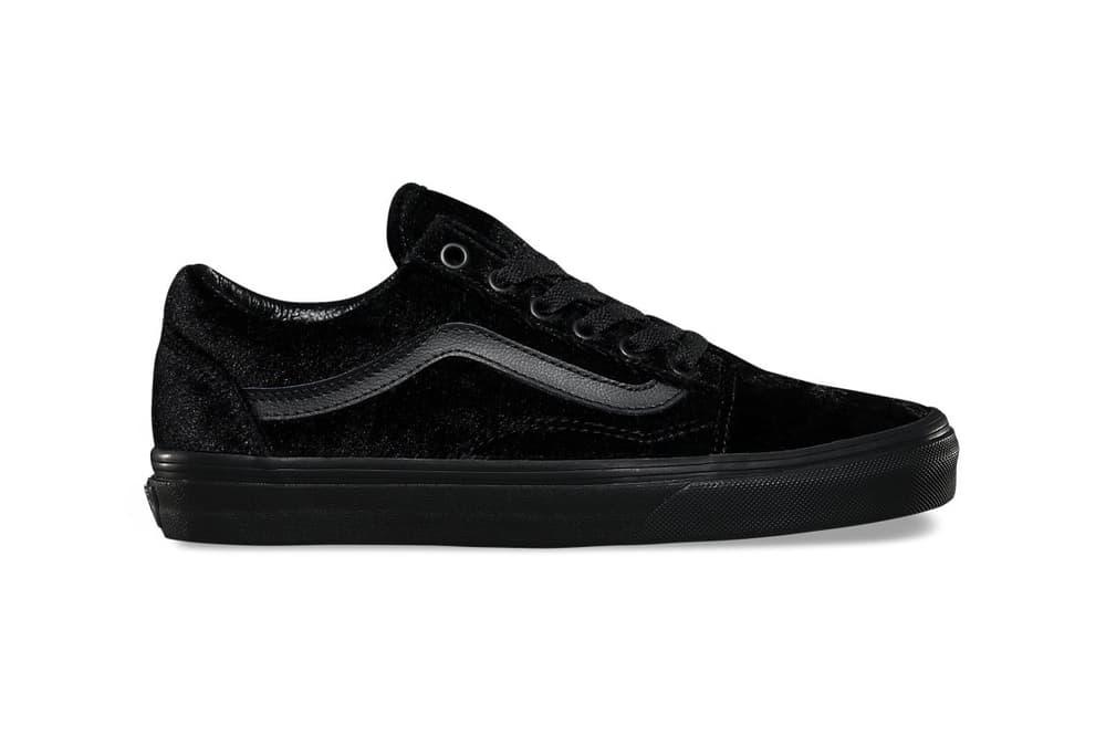 Vans Old Skool Velvet Black