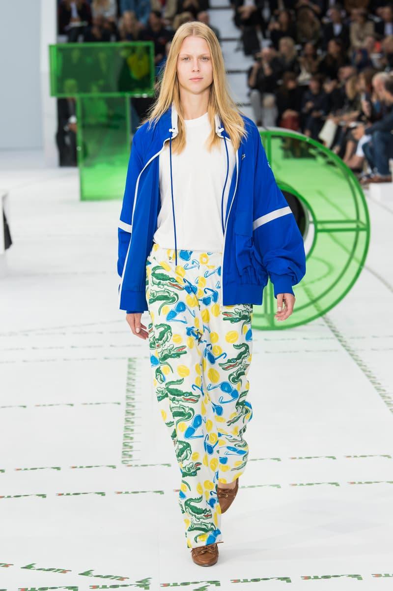 Lacoste Spring Summer 2018 Show Paris Fashion Week France Sportswear Athleisure Tennis Timeless Iconic Crocodile